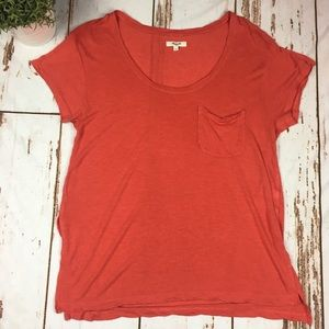 Madewell Anthem Scoop neck T-shirt